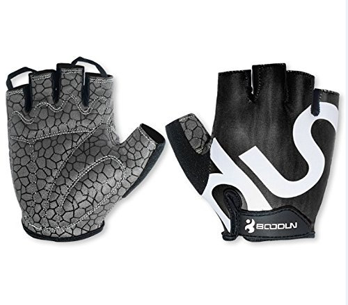 Cycling Gloves men women half finger gel padded mountain road bicycle race...