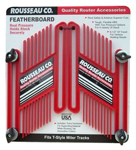 Rousseau 3301-10 Dual Pressure Featherboards, Dual (Rousseau Router Table)