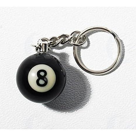 hotrodspirit - Puerta Llave bola de billar 8 Ball redondo 8 Ball ...