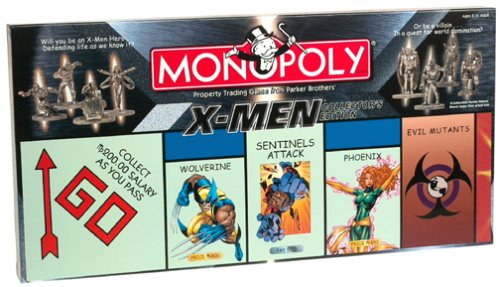 Monopoly - X-Men Collector's Edition (Customized Games Monopoly)