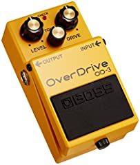 Built in the tradition of the legendary BOSS overdrives, the OD-3 OverDrive pedal gives guitarists a greatly expanded range of smooth overdrive tones and improved response while staying true to the original.