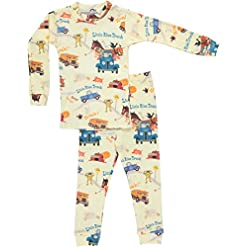 Books to Bed Boys Little Blue Truck Pajama Set