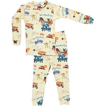 Books to Mattress Boys Little Blue Truck Pajama Set