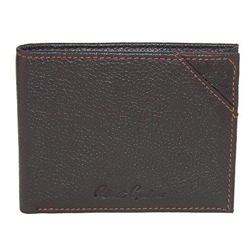 with Graham Bifold Robert Detail Men's Leather Wallet Brown Embossed gXdgqPw