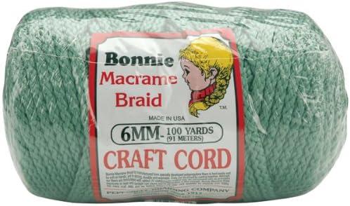 100-Yard Navy Pepperell BB6-100-038 6mm Bonnie Macram/é Craft Cord