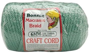 Pepperell 6mm Bonnie Macramé Craft Cord, 100-Yard, Sage