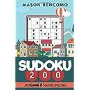 Sudoku 200: Medium Puzzles for the Advanced Beginner (Volume 3)