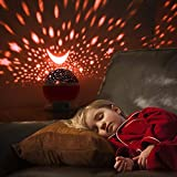 Star Night Light Projector, Baby Lights with 4
