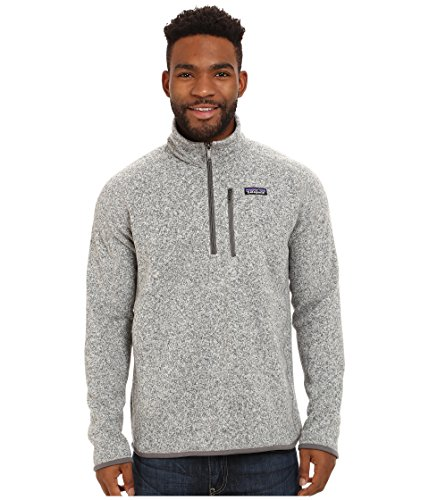 Patagonia Mens Better Sweater 1/4 Zip (X-Large, Stonewash) (Patagonia Mens Cotton Quilt Snap T Pullover)