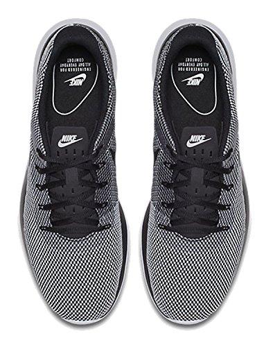 Nike Mens Tanjun Racer Löparskor Svart / Svart-vit