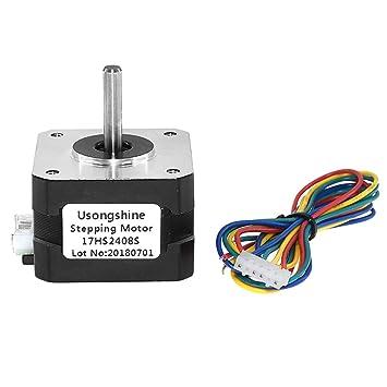 Fansport No 17 Motor Paso A Paso Impresora 3D 4 Cable 0.6A ...
