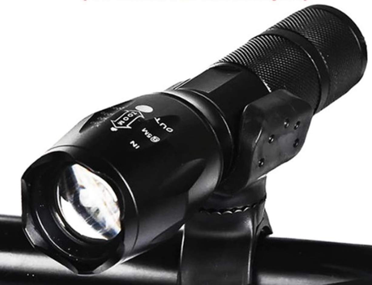 8000LM Q5 LED Flashlight 3 Modes Tactical Zoomable Torch Light Lamp Super Bright