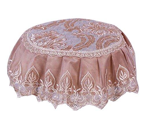 Beautiful Round Stool Cushion European Style Stools Pad Khaki by Black Temptation