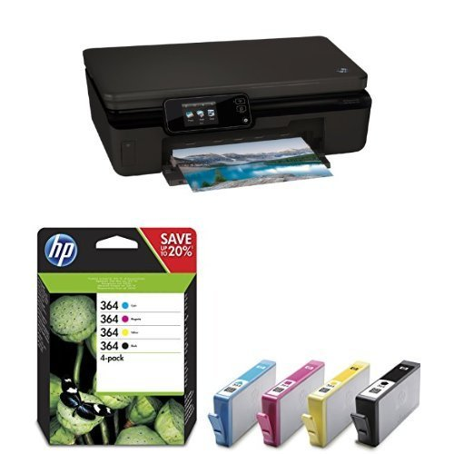 HP Photosmart 5520 Pack - Impresora multifunción + Pack de 4 ...