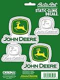 "Chroma 3503 John Deere 6""x 8"" -Static Decal"