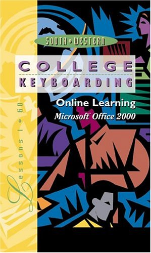 Online Learning, Microsoft Word 2000, Lessons 1-60, Individual License: College Keyboarding