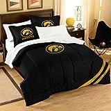 The Northwest Company NCAA Iowa Hawkeyes Comforter and Shams Set, Twin/Full
