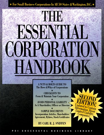 The Essential Corporation Handbook  PSI Successful Business Library