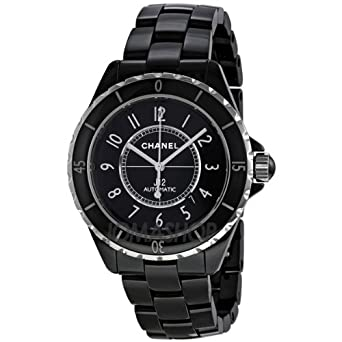 Chanel Chanel J12 Negro Dial Cerámica Automático Unisex Reloj: goldia: Amazon.es: Relojes