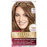 golden L'Oréal Paris Excellence Créme Permanent Hair Color, 6G Light Golden Brown