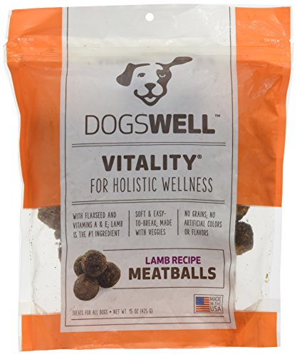 Dogswell Lamb Vitality Meatballs, 15 Oz. -