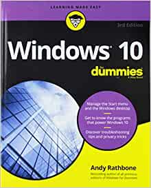 Windows 7 for Dummies® by Andy Rathbone (2009, Paperback / DVD