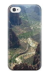 Faddish Phone Gran Canyon From Above Case For Iphone 4/4s / Perfect Case Cover