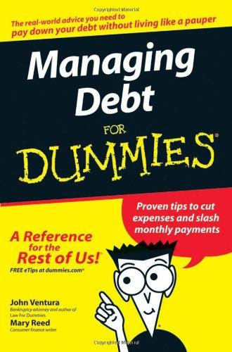 Managing Debt Dummies John Ventura product image