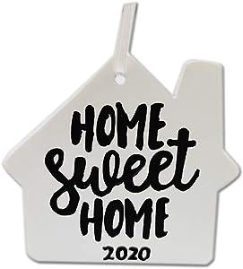 DiDida Home Sweet Home Christmas Ornament 2020 Housewarming Gift