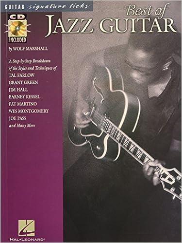 Amazon com: Best of Jazz Guitar (Signature Licks) - With CD