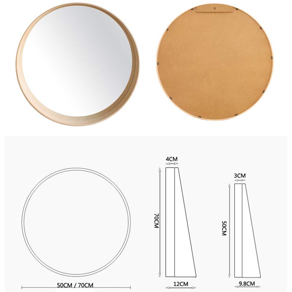 Espejo espejo de ba o n rdico montaje de pared - Espejo nordico ...