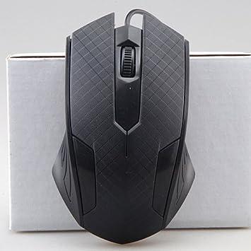 Cable USB portátil ordenador de sobremesa óptico juegos competitivos oficina en casa complementos CF ratón: Amazon.es: Informática