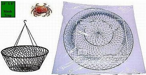 South Bend Two Ring Wire Crab Net (18-Inch), Outdoor Stuffs