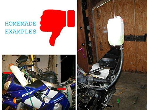 Dep/ósito de Gasolina Herramienta Mec/ánico Taller /& Diy Moto Auxiliar Gasolina Mecanismo Ideal para Carburador Equilibrio Mantenimiento//Tuning