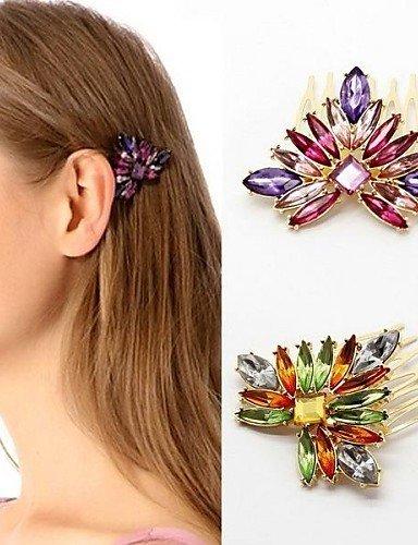 Lin At G Z X Elegante üppige Multicolor Haar 2 Farben Optionen