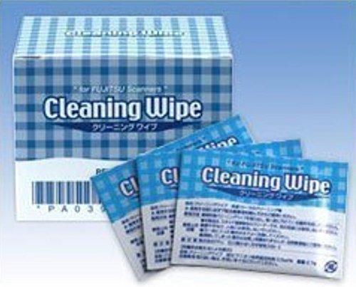 Fujitsu 6-Sheets Cleaning Wipes Pre-Moist PA03950-0419