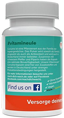 Vitamineule Curcuma Kapseln