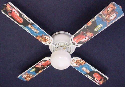 Ceiling Fan Designers Ceiling Fan, Cars Lightning Mcqueen Mater, 42