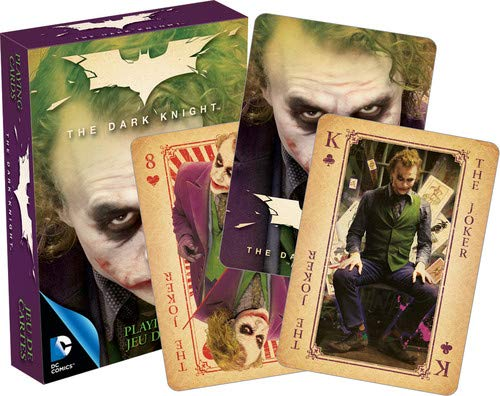 Aquarius DC Comics The Joker Heath Ledger Playing Cards ()