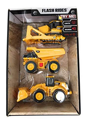 CAT Flash Rides Bulldozer, Wheel Loader, Dump Truck