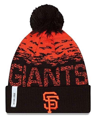 fan products of MLB San Francisco Giants Headwear, Orange/Black, One Size