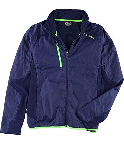 Ralph Lauren Polo Sport Men's Hybrid Full Zip Windbreaker Jacket (Small)