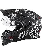 Oneal Sierra II Helmet Torment Black/White Casco