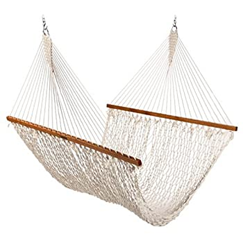 the original pawleys island 15oc cotton rope hammock presidential edition amazon     pawleys island qweaveflax softweave hammock flax      rh   amazon
