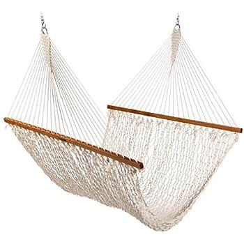 the original pawleys island 15oc cotton rope hammock presidential edition amazon     pawleys island hammocks large original duracord rope      rh   amazon