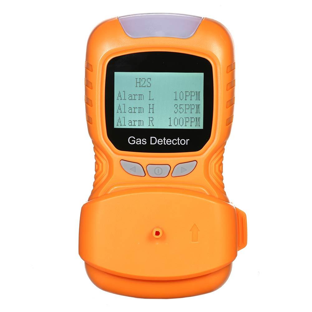 AKAKKSKY 4 en 1 Detector de Gas O2, CO, H2S, LEL Medidor de ...