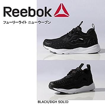 468a682c93a (リーボック)Reebok スニーカー FURYLITE NEW WOVEN フューリーライト ニューウーブン BLACK DGH SOLID