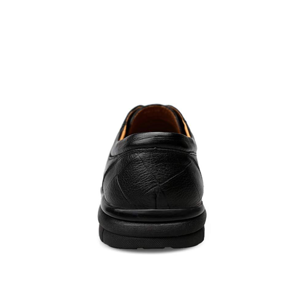 Apragaz Scarpe da da da Uomo - Scarpe Oxford da Uomo Scarpe Casual retrò Scarpe Stringate Moderne e comode (Colore   Nero, Dimensione   44 EU) 062a1c