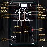 AKUSTIK Dual 2-Way Powered PA Speaker