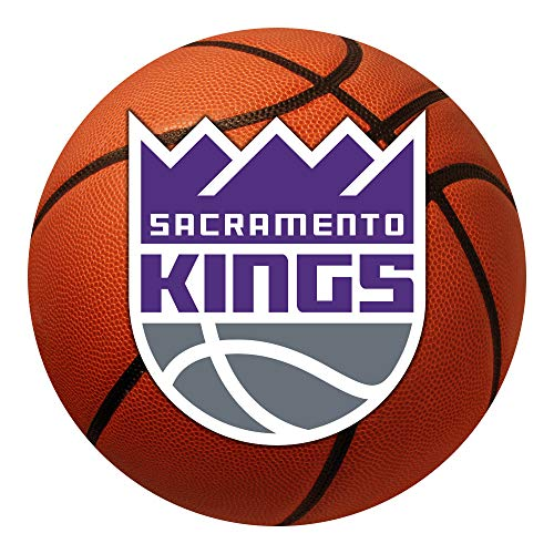 FANMATS NBA Sacramento Kings Nylon Face Basketball ()